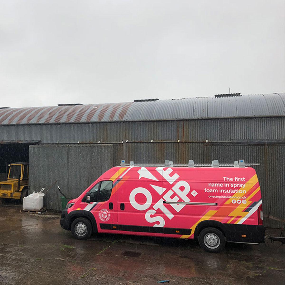 Our Spray Foam - One Step Insulation